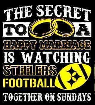 The secret to a happy marriage