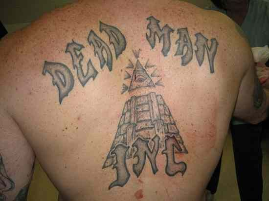 The Dead Man Inc is a prison gang that originated as a white gang in the Maryland Department of Corrections around the late 1990s.  Perry Roark, one of the original three founders, was respected by the members of the Black Guerrilla Family (See #4) prison gang, but when he tried to join them he was rejected. He then went on to form his own gang, adopting the BGF basic philosophy which is anti-government and anti-authority.  The Dead Man Inc quickly grew in numbers, absorbing smaller gangs…