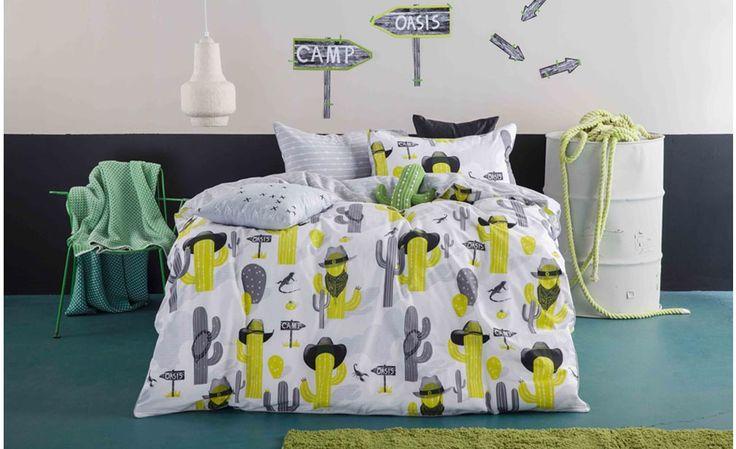 Cactus Cowboys Quilt Cover Set From Kas Kids | Online Australia