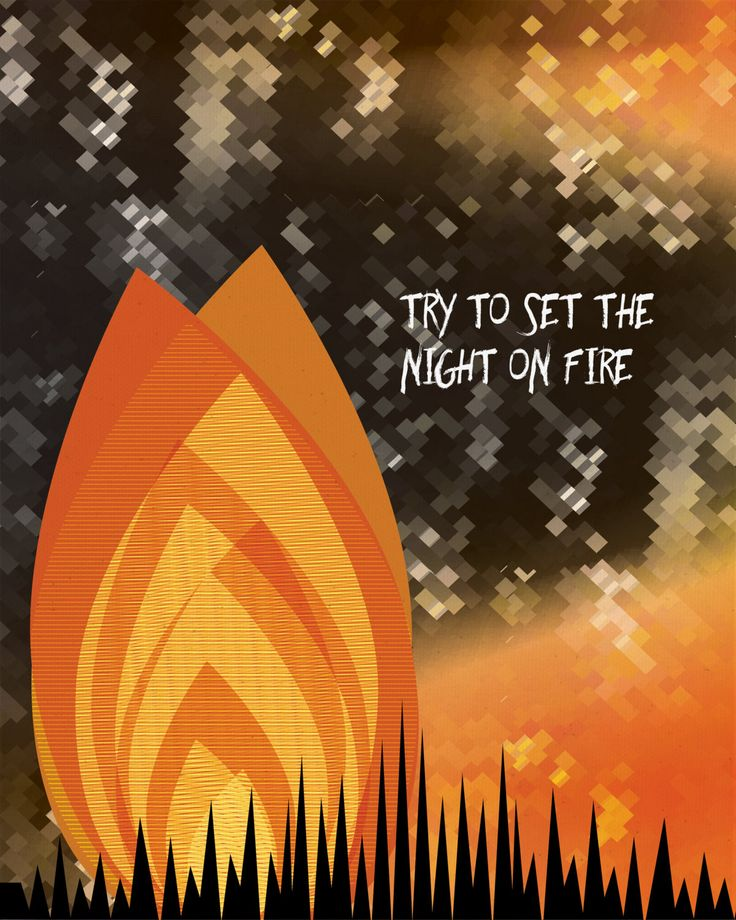 LIGHT MY FIRE BY THE DOORS. Original custom designed artwork of treasured hit songs from your favorite artist & music era. Playfully colorful illustrations create a special and affordable piece for yo