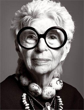 Follow this board. I love her open, expansive eye for beauty. Iris Apfel.  #GIRLSKICKASS