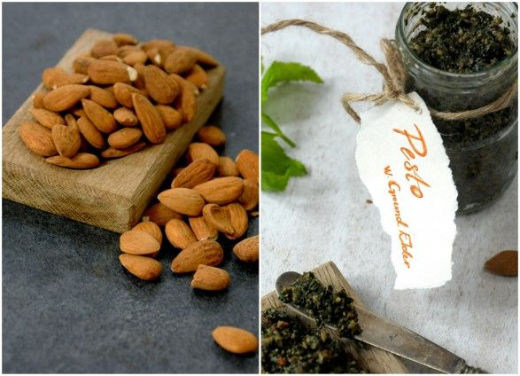 Pesto á la weeds (Ground Elder & Almonds)