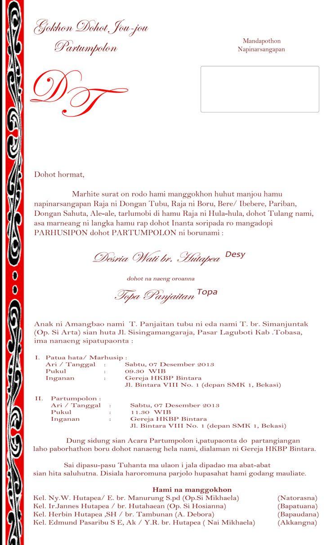 Desy & Topa  engagement invitations