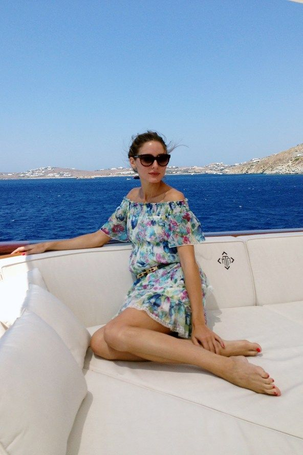 OLIVIA PALERMO sets sail to Greece and shows us her summer style, with an exclusive look inside her holiday diary. Vogue.