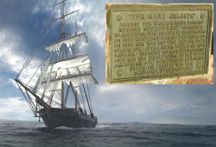 Mary Celeste ship (Gibraltar - UK)