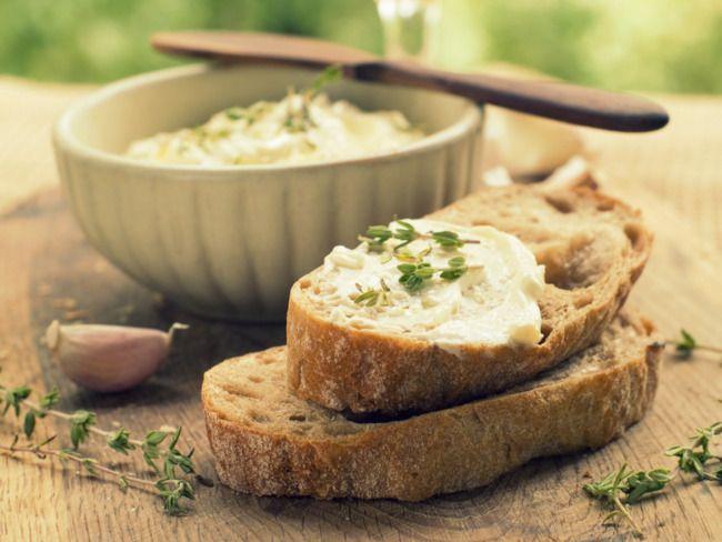 Herbed Kefir Cheese (homemade)