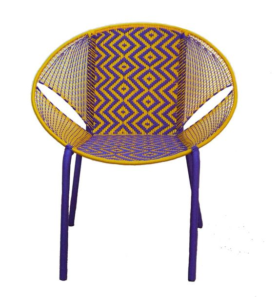 Fauteuil design made in Africa pièce unique