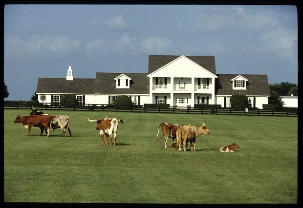 Southfork Ranch- Dallas, TX- where they apparently shoot the show Dallas