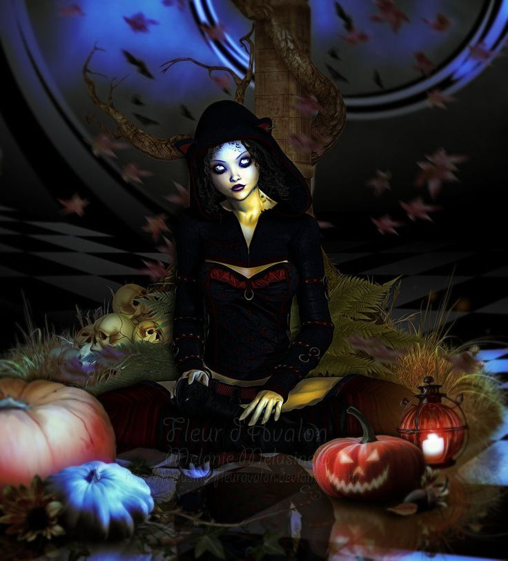 My Pumkin world by Melusine-FleurAvalon on deviantART