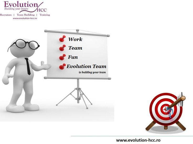 Evolution Teambuilding is building your team !