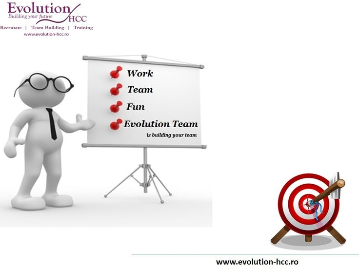 Evolution Teambuilding is building your team !