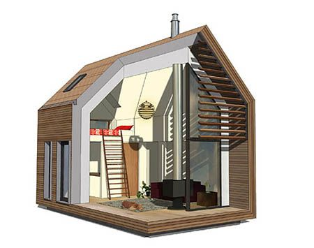 Sheds Made Into Houses | Shed For Living By FKDA Architects | Green Design  Blog
