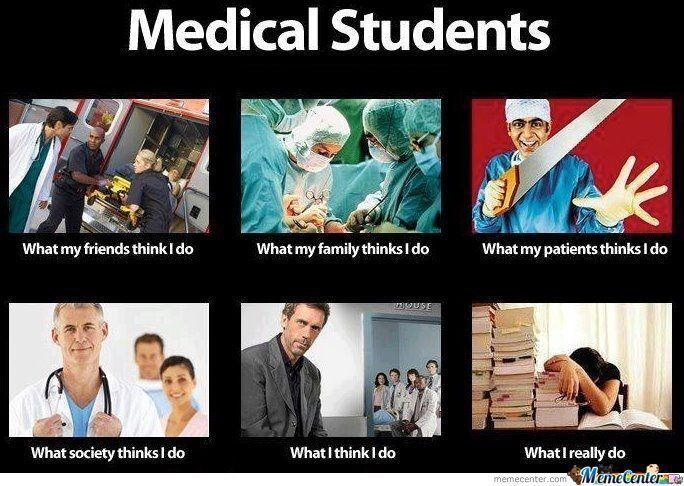 študent medicíny