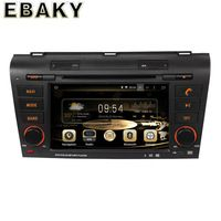 1024*600 Quad Core 16G 7Inch Pure Android 5.1.1 Car Radio for MAZDA 3 2004-2009 GPS Navigation+DVD Player