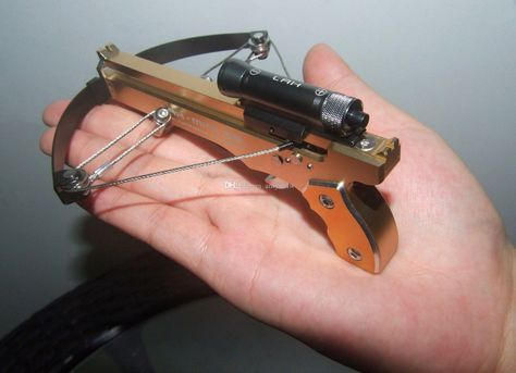 25 best ideas about slingshot on pinterest bow arrows for Mini crossbow fishing
