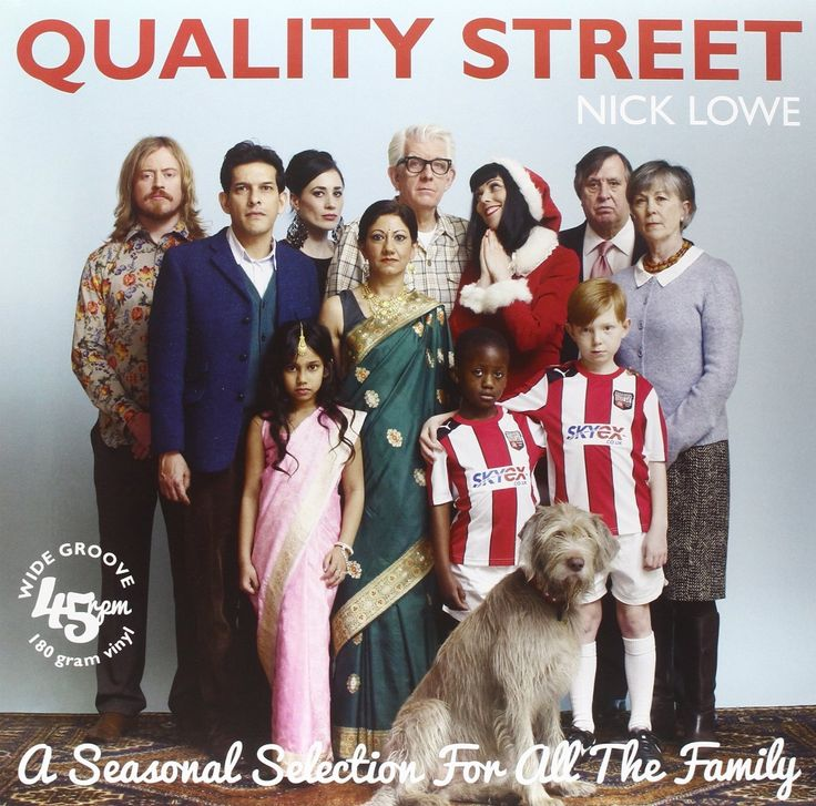 Nick Lowe - Quality Street: A Seasonal Selection For The Whole Family (180g Vinyl LP + CD)