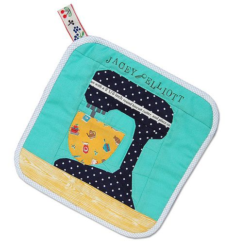 way too cute paper pieced potholder!