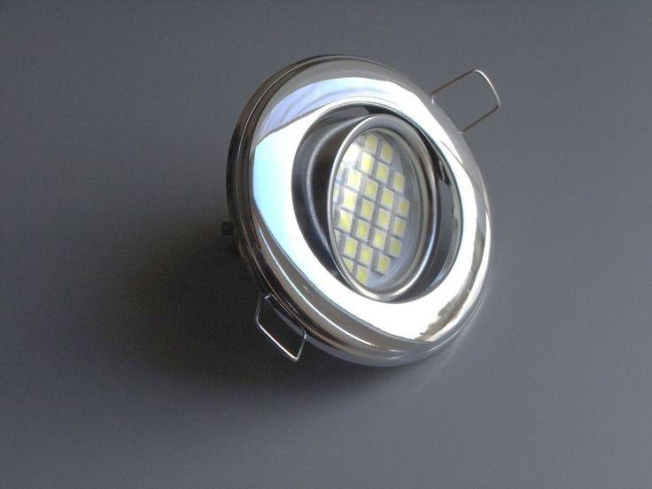 5x LED SMD Einbauleuchte Einbaustrahler Deckenleuchte GU10 4,7W 4,7Watt warmweiß