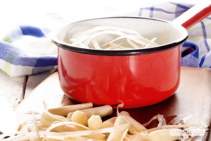 spargelschalen verwerten spargelcremesuppe und