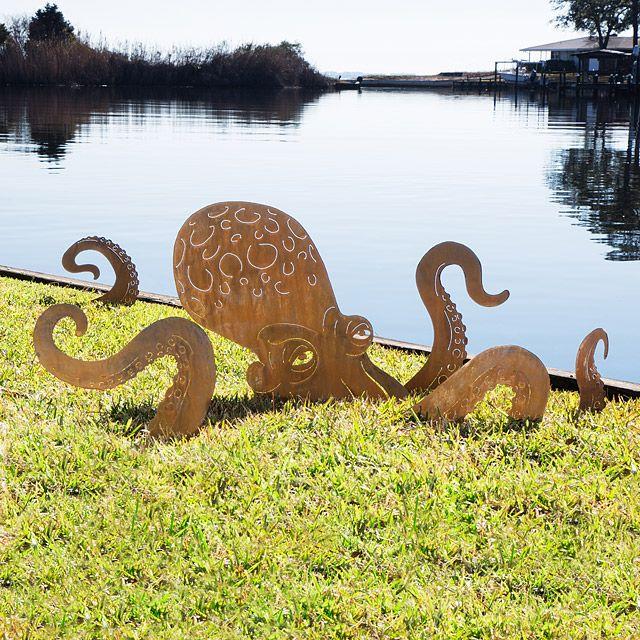 Octopus Garden Sculpture 1
