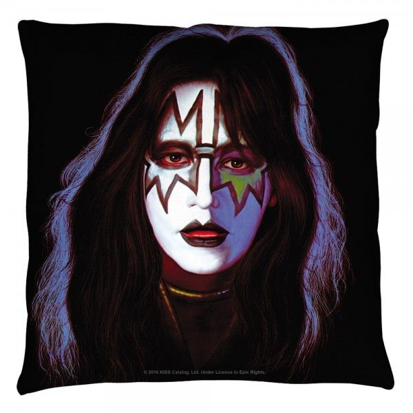 Kiss Ace Frehley Throw Pillow In 2020 Ace Frehley Kiss Band