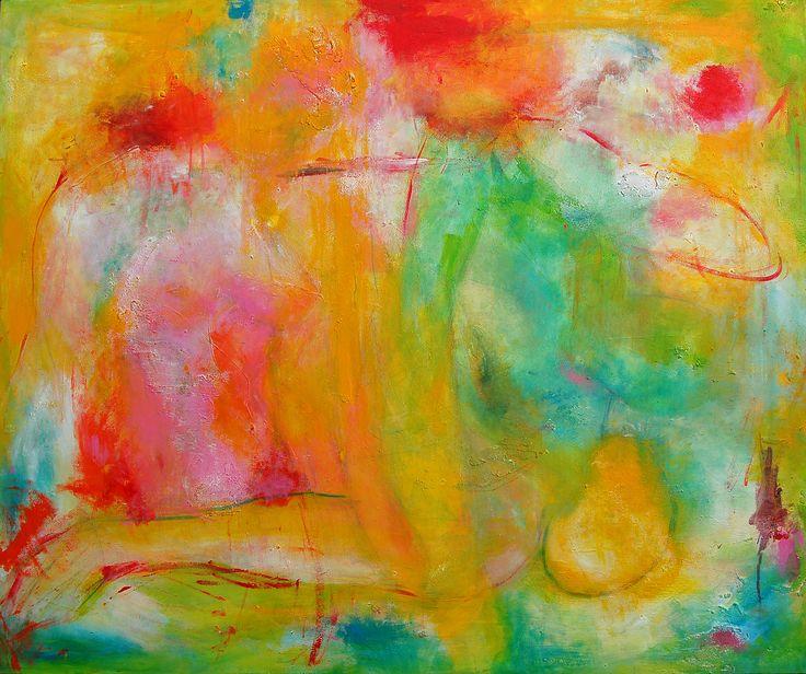 Paintings - Zij, acrylic, mixed media