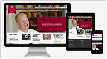 Check out Boston agency OHO Interactive's web design and user experience work for Norwich University on Agency Spotter.