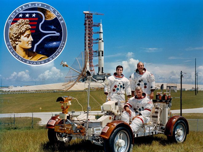 Apollo 17: NASA's Last Apollo Moon Landing Mission in Pictures