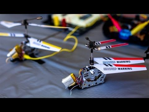 Hacking a $20 Toy Helicopter into an Autonomous Drone - YouTube