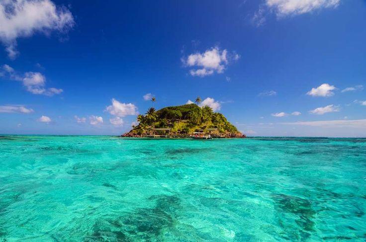 Cayo Cangrejo, Ilha de Providencia - A belíssima ilha é banhada pelo mar do Caribe com seu tom azul ... - Shutterstock