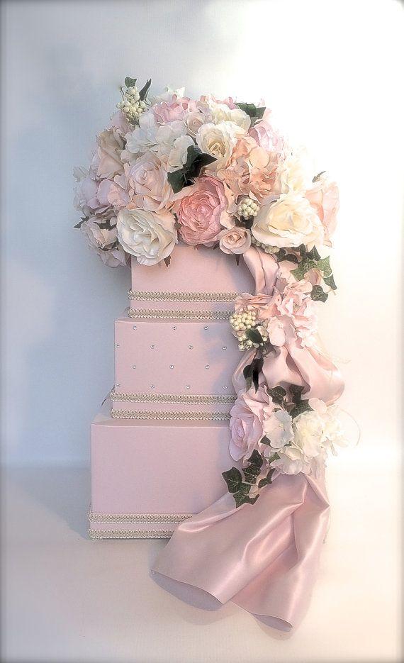Wedding Card Box with Lock Secured Lock