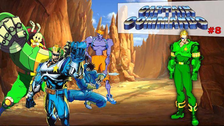 Captain Commando Stage#8 Enemys Spaceship|Old Fashion Gamer|  ¡Retro! |G...