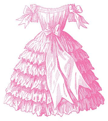 Victorian Fashion - Children's Party Dresses - The Graphics Fairy