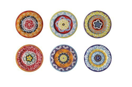 Nador-Stoneware-Plates-Set-of-6-Mixed-Bright-Mediterranean-Colours-Mugs-Plates
