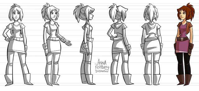 Anna Rettberg: Character Turnaround