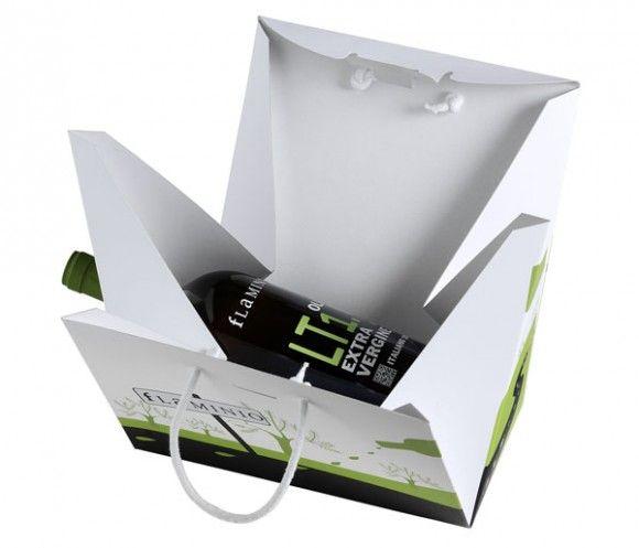 Подарочная упаковка для оливкового масла Olio Flaminio