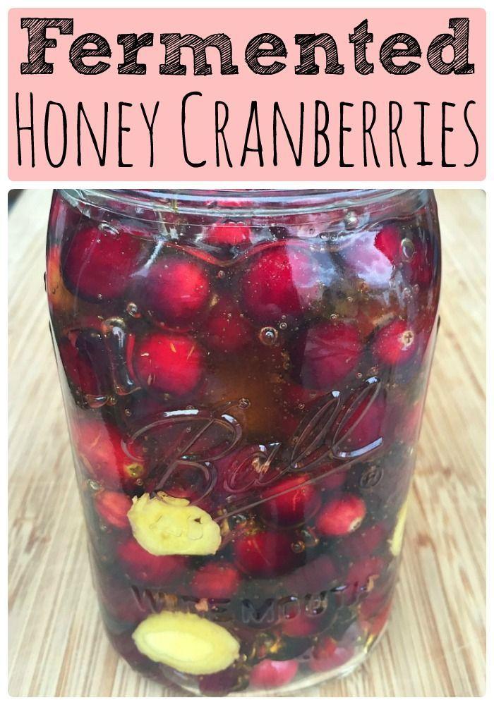 fermented-honey-cranberries