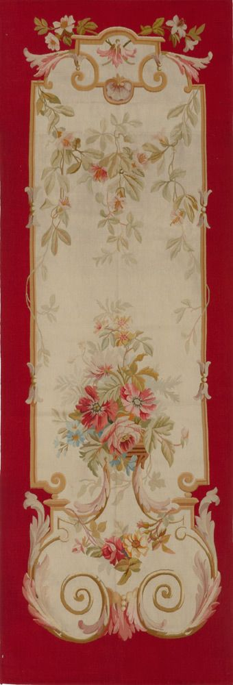 Matt Camron Rugs & Tapestries Antique European Aubusson Panel Rug