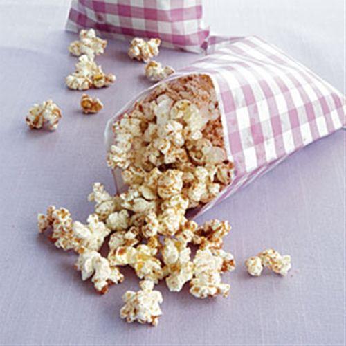 Cinnamon-Sugar Popcorn  Sounds delicious!