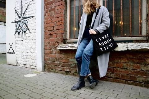 The FRIHET bag- Carrying a Message of FREEDOM