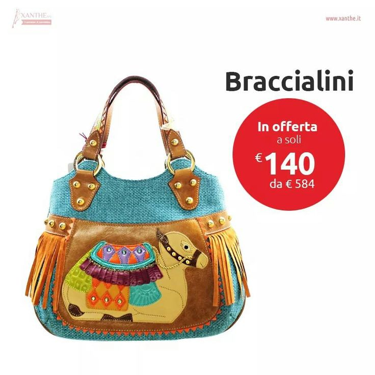 #xanthe #shopping #style #glam #mood #fashion #bag #picoftheday #braccialini #buy #sell #pin www.xanthe.it