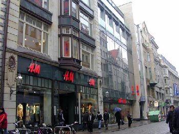 Leipzig, Hainstraße 5-7, heute: H&M Leipzig