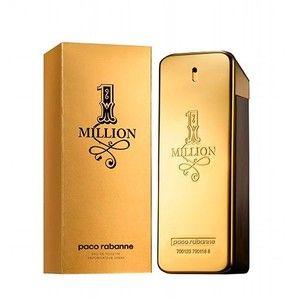 Um dos mais comentados produtos da marca Paco Rabbane, o perfume One Million, foi feito para você que é um homem moderno, versátil, inteligente, e que se empenha todos os dias para atingir o sucesso e ter uma carreira brilhante.