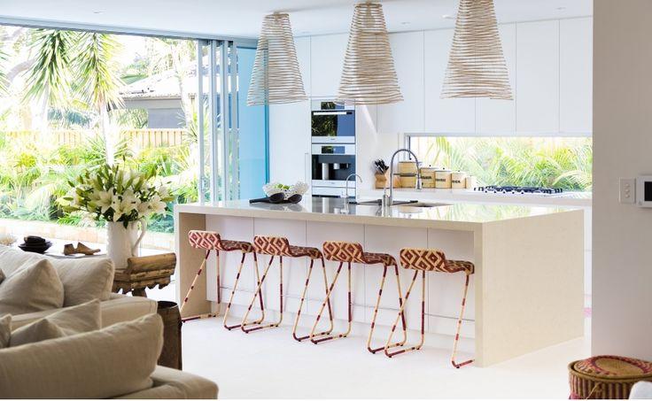 Coastal kitchen inspiration courtesy of Coco Republic