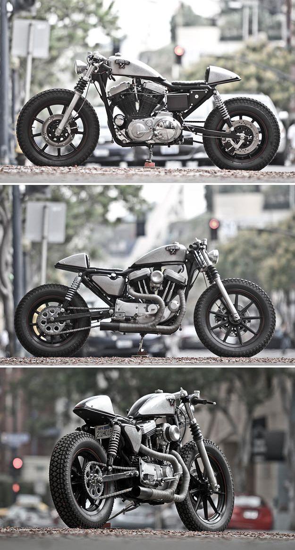 Harley Cafe Strangely beautiful -gopher