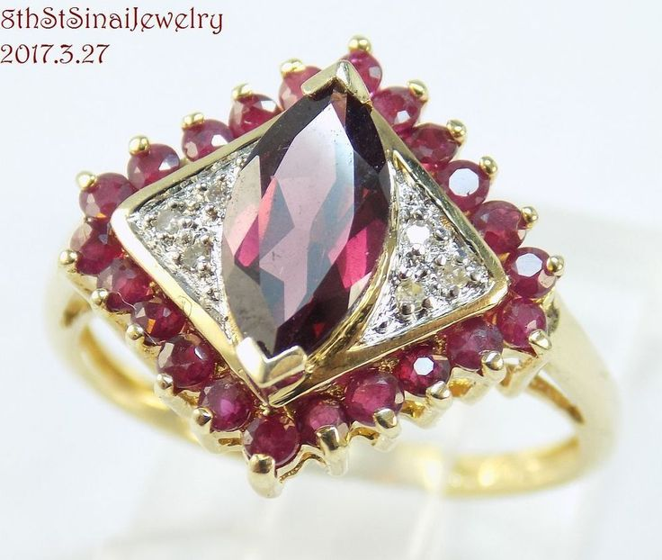 9 best images about Gold Rings from 8thStSinaiJewelry on Ebay on ...