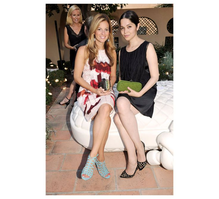 Bottega Veneta's Saint-Tropez Party  Serena Hood, executive fashion editor of British Vogue and Beatrice Graf, fashion editor of Vogue Germany