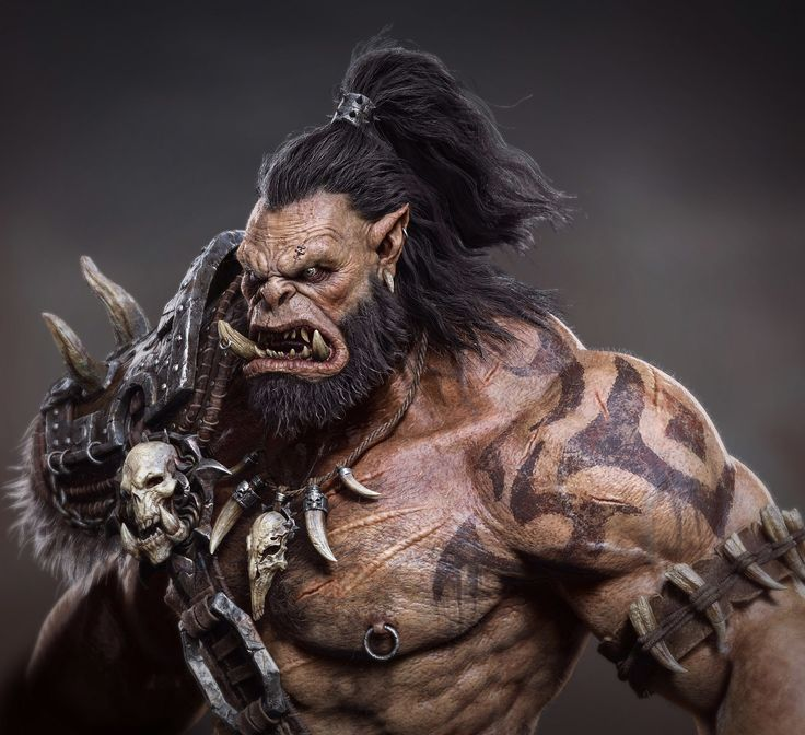 Orc by ZHANGXIAO89 | Creatures | 3D | CGSociety