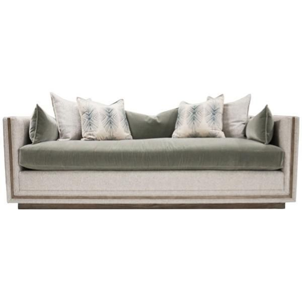 Vanguard Furniture Waterville Bench Seat Sofa Vanguard Furniture