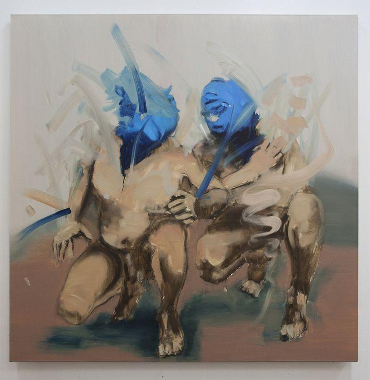 Othello I  Artista: Bartosz Beda, óleo sobre lienzo, 153x153cm, 2014  Artist: Bartosz Beda, oil on canvas, 153x153cm, 2014 (300dpi)  #art #arte #contemporaryartwork #pintura #paint #bac #dibujo #drawing